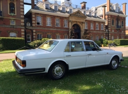 Rolls Royce Silver Spirit for weddings in Ascot